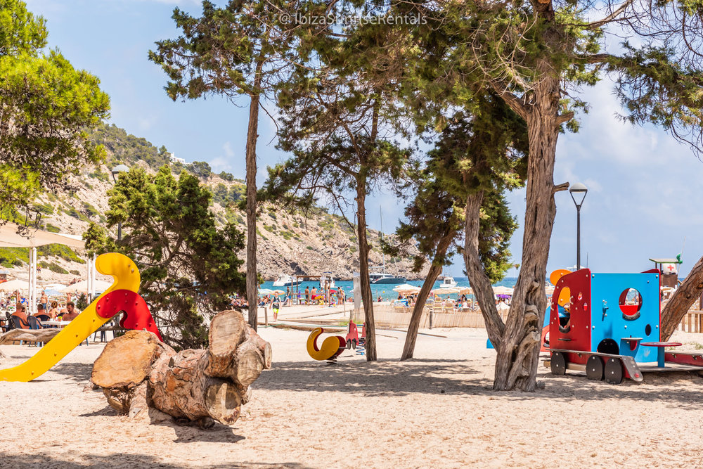 Cala Llonga children's playground