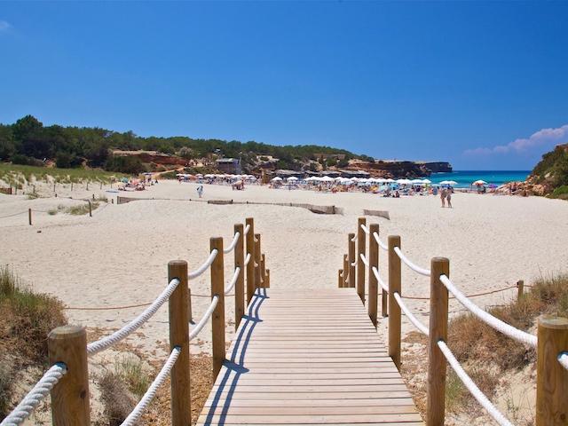 Formentera Cala Saona beach