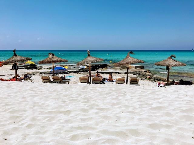 Formentera Migjorn beaches