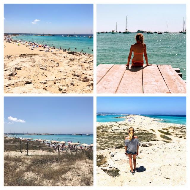 Formentera Ses Illetes collage