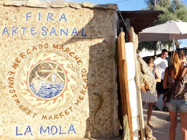 La Mola hippy market Formentera