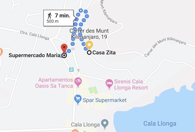 Supermarkets Cala Llonga Santa Eulalia