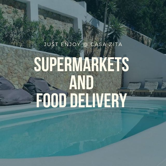 Cala Llonga supermarkets and food delivery