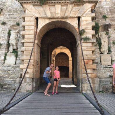 Ibiza ingang oude stad