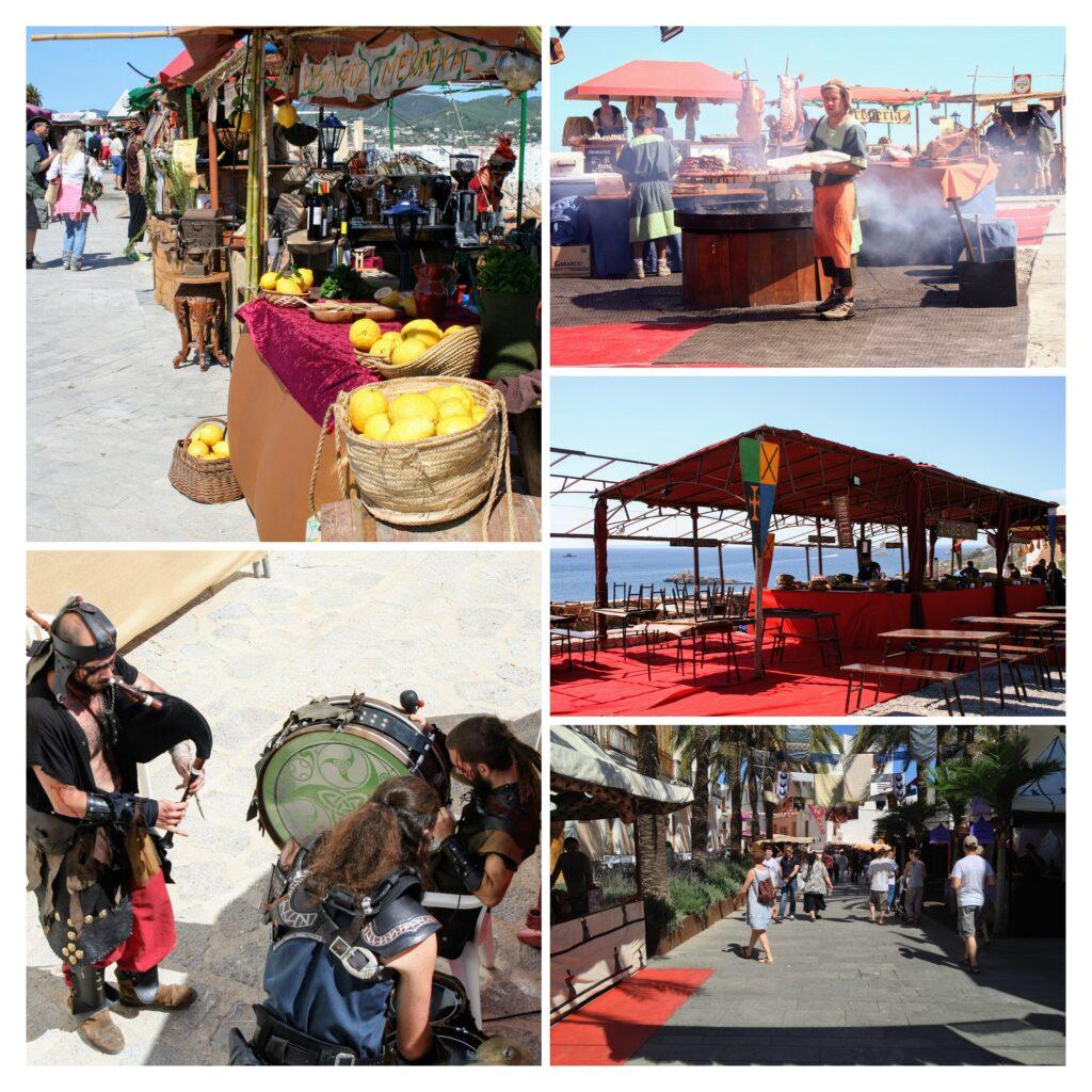 Medieval festival Ibiza-COLLAGE